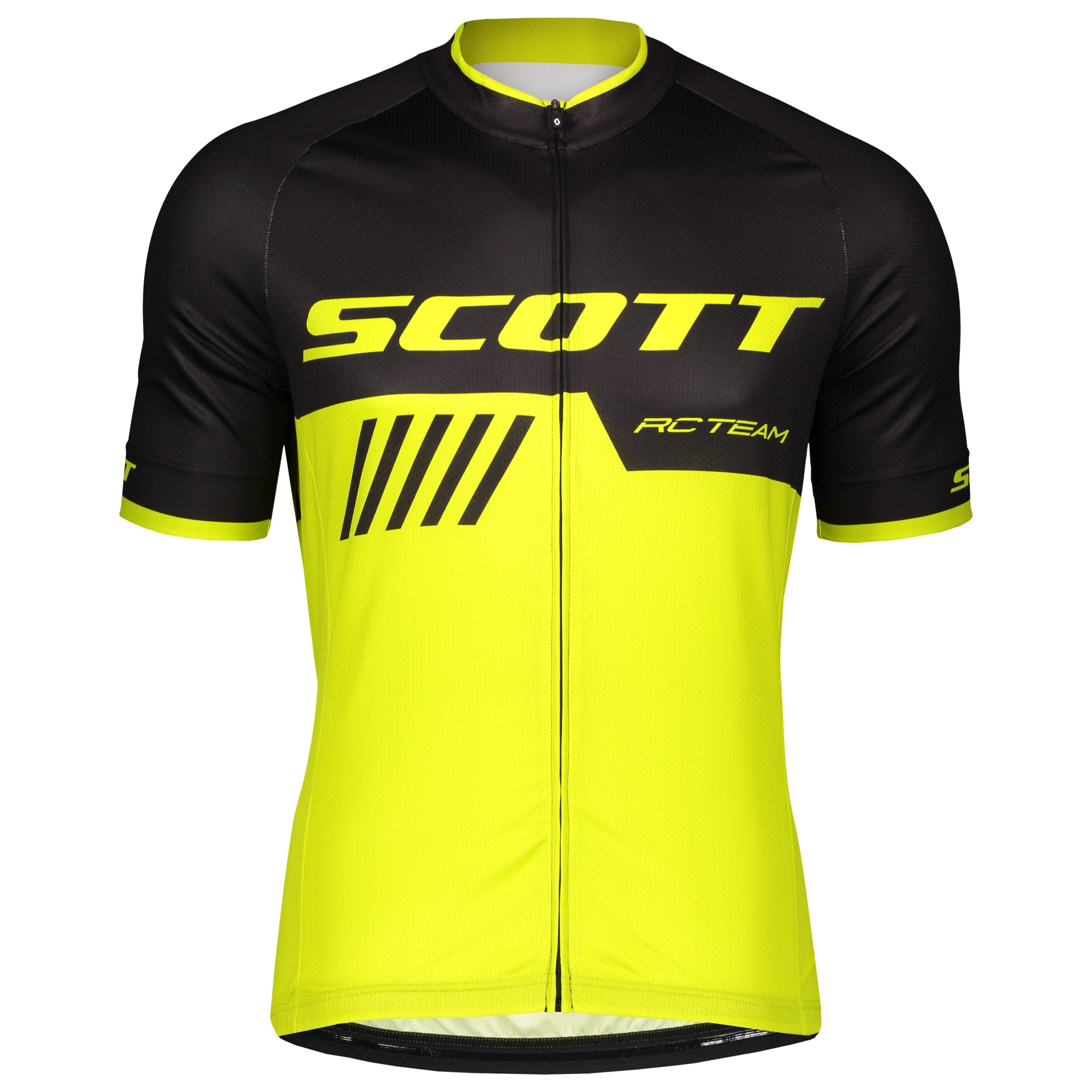 Джерси с коротким рукавом SCOTT RC Team 10 Black/Yellow 2019